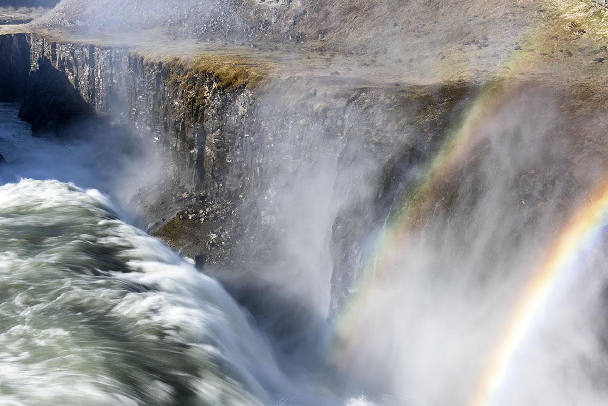 Gullfoss - Double Rainbow